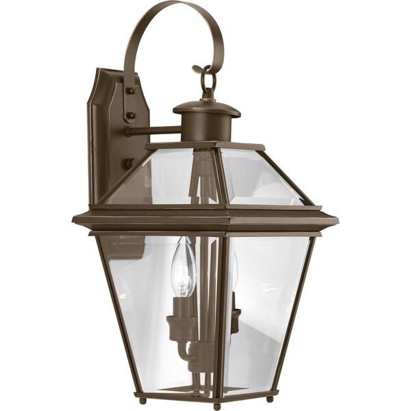Burlington Bronze Aluminum Medium 2-light Wall Lantern