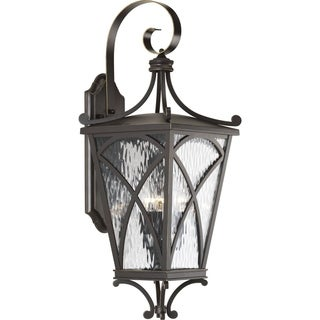 Cadence Aluminum 10-inch 3-light Large Wall Lantern