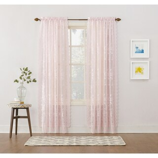 No. 918 Alison Rod Pocket Lace Curtain Panel