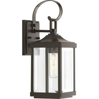 Gibbes Street Brown Aluminum 5.5-inch One-light Wall Lantern