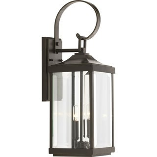 Gibbes Street Aluminum 7-inch Two-light Med Wall Lantern