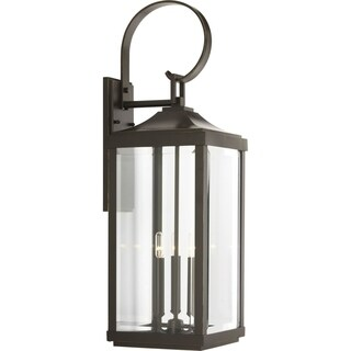Gibbes Street 9.5-inch Three-light Large Wall Lantern