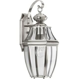 New Haven Grey Aluminium Medium-sized One-light Wall Lantern