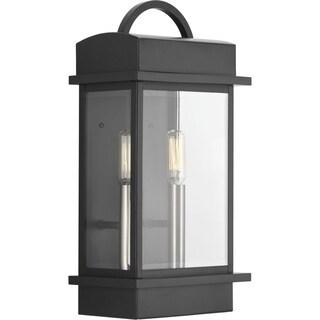 Santee Aluminum 2-light Small Wall Lantern