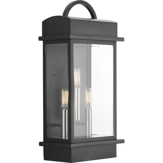 Santee Large Three-light Wall Lantern