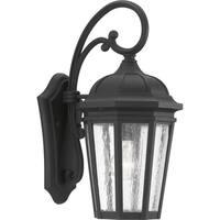 Progress Lighting Verdae Black Aluminum One-light Medium Wall Lantern