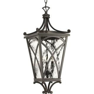 Cadence 10-inch Three-light Hanging Lantern