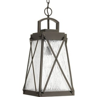 Progress Lighting Creighton Bronze Finish Aluminum 1-light Hanging Lantern
