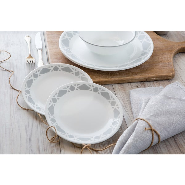 shop corelle livingware modena 16 piece dinnerware set free shipping today overstock 14521859. Black Bedroom Furniture Sets. Home Design Ideas