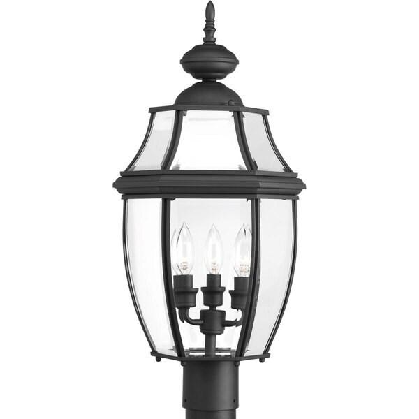 New Haven 3-light Post Lantern