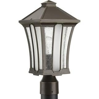 Twain Brown Aluminium 7.75-inch One-light Post Lantern