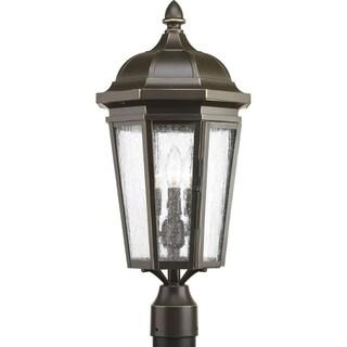 Verdae Three-light Post Lantern