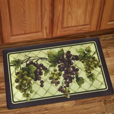 "Grapes of Tuscany Anti-Fatigue Floor Mat (18""x30"")"