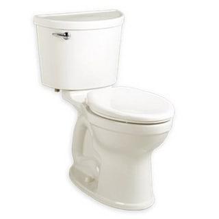 American Standard Champion Elongated 2-piece White Vitreous China Toilet