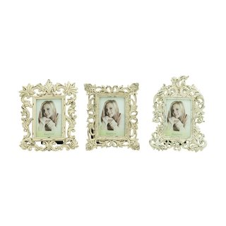 Polystone Photo Frame (Pack of 3)