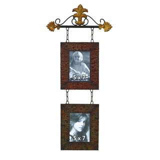 Bronze-finish Iron Metal Wall Photo Frame