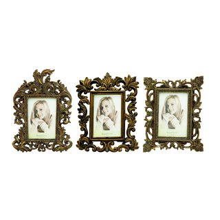 Polystone Photo Frame Set of 3