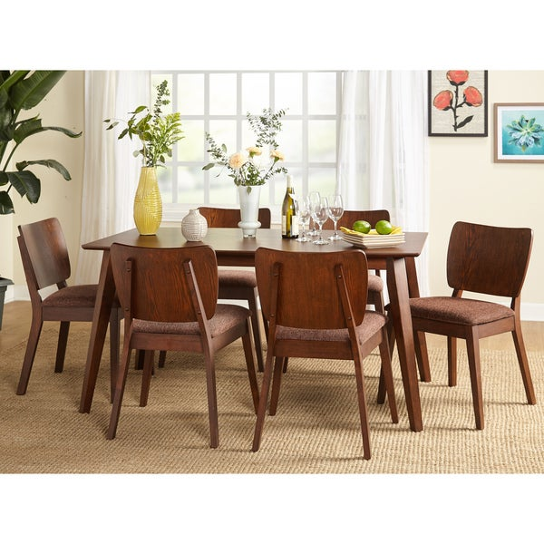 Mid Century Dining Set: Shop Simple Living Bernard Mid-Century Dining Sets
