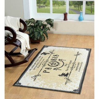 Paris Cotton Printed Accent Rug - 2' x 3'
