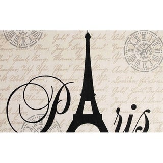 "Eiffel Cotton Printed Accent Rug (24""x36"")"