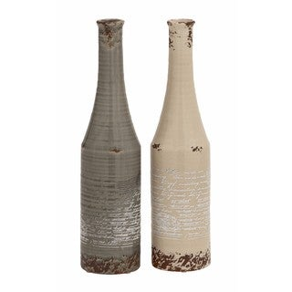 The Gray Barn Joyful Stream Ceramic Vase (Set of 2)