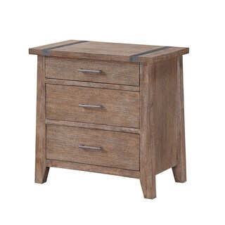 Emerald Home Viewpoint 3-Drawer Nightstand