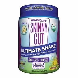 Renew Life Skinny Gut 13.4-ounce Ultimate Shake Natural Vanilla