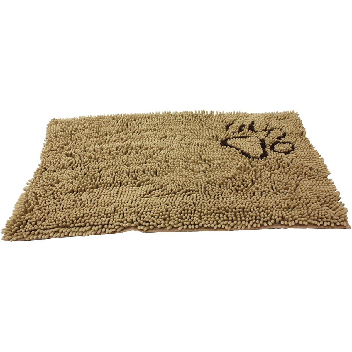 Clean Paws Dog Mat (Tan-31x20), Grey