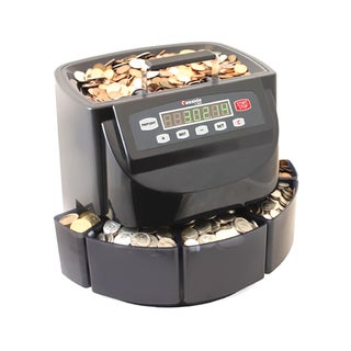 Cassida C200 CAD Coin Sorter, Wrapper, and Counter