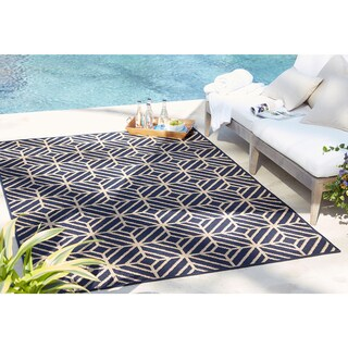 Mohawk Home Oasis Rockport Navy (9'x12')