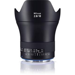Zeiss Milvus 18mm f/2.8 ZE Lens for Canon EF