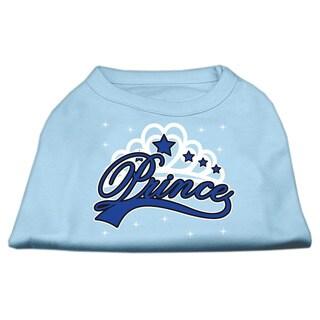 Mirage Pet Products 'I'm a Prince' Cotton-blend XXXLarge Screen-printed Dog Shirt