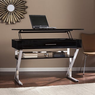 Harper Blvd Loren Black Adjustable Height Sit/ Stand Desk