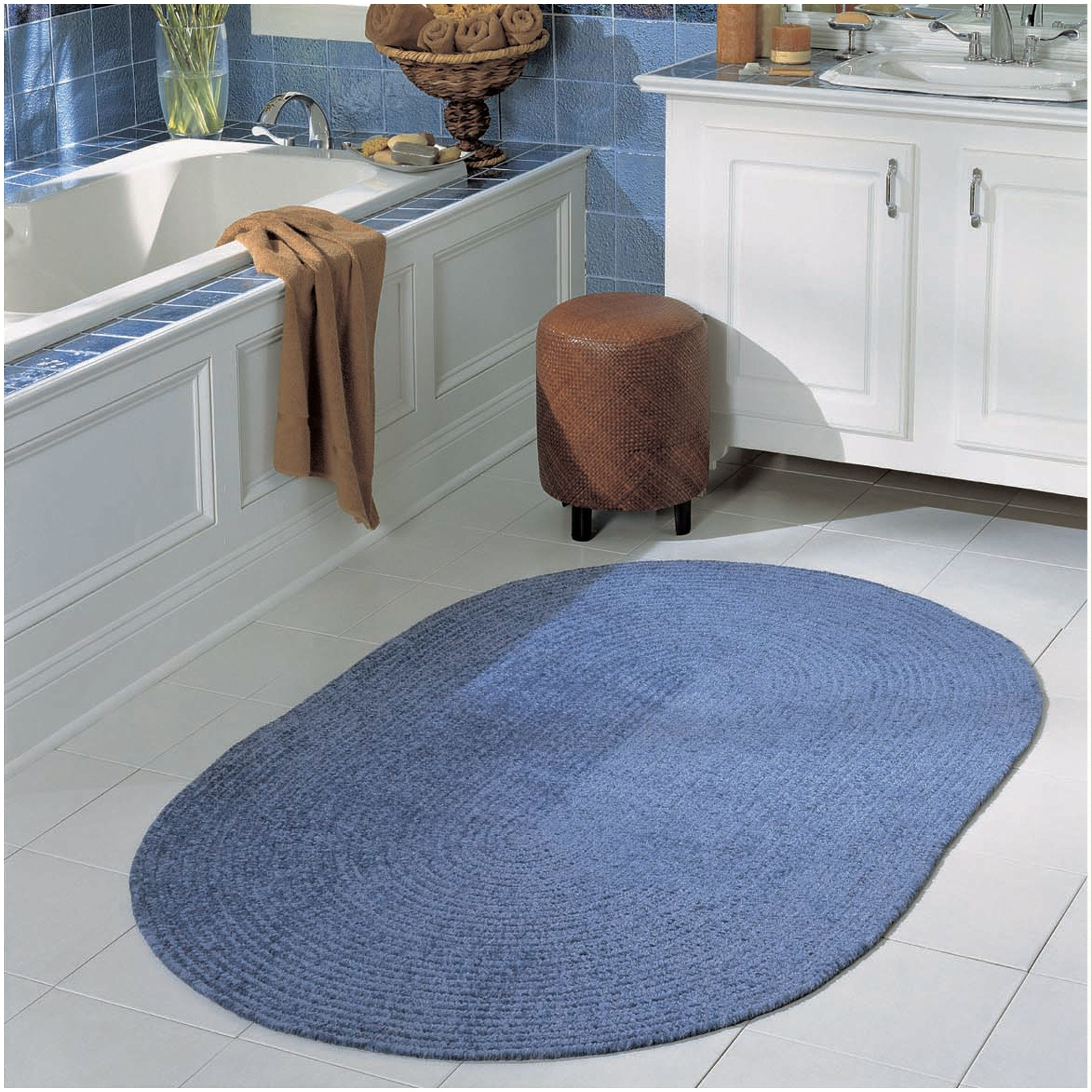 Meadow Chenille Reversible Bed & Bath Rug