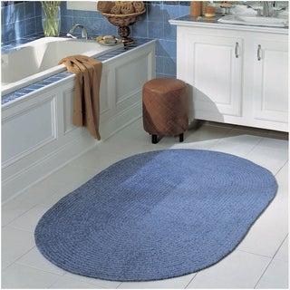 Meadow Chenille Reversible Bed & Bath Rug (4' x 6') - 4' x 6'