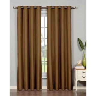 Bella Luna Euphoria Microfiber Room Darkening Extra Wide 95-inch Grommet Curtain Panel - 54 x 95 in.