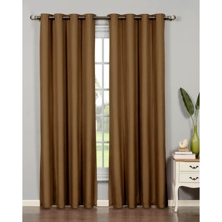 Bella Luna Euphoria Microfiber Room Darkening Extra Wide 84-inch Grommet Curtain Panel - 54 x 84 in. (More options available)