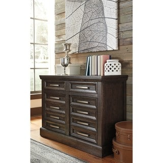 Signature Design by Ashley Townser Grey Credenza