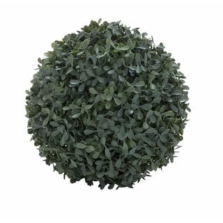 Green 8-inch Boxwood Decor Ball
