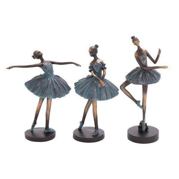 Copper Grove Iris Polystone Dancers (Pack of 3)