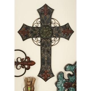 Metal Wall Cross (Set of 2)
