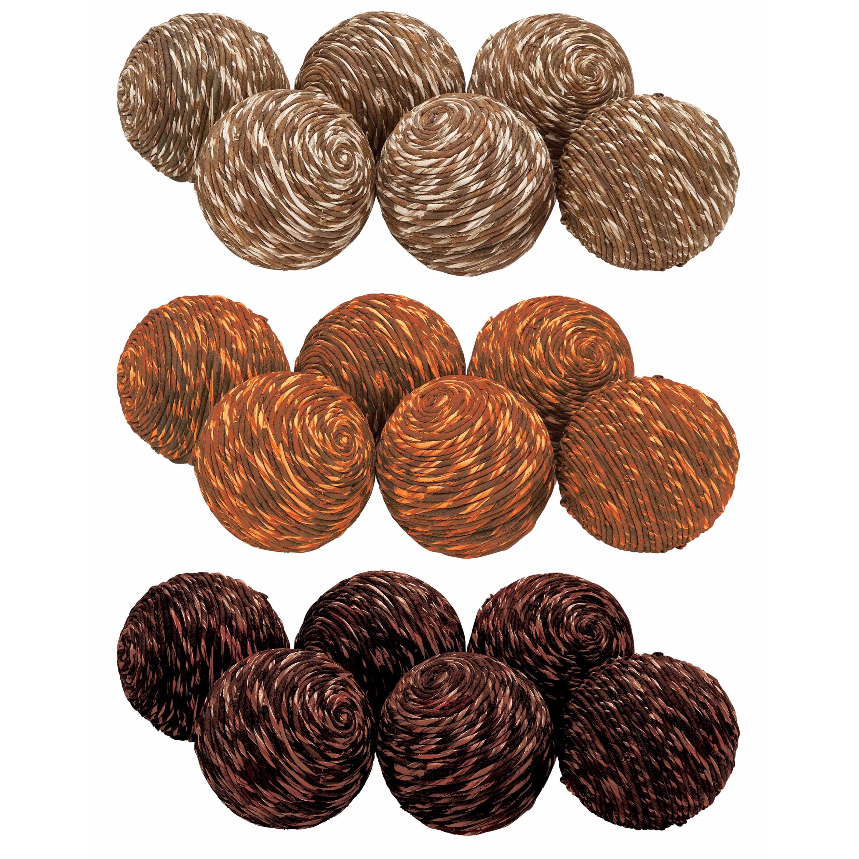 Studio 350 Natural Dried Sola Balls (Multi-Color), Multi ...
