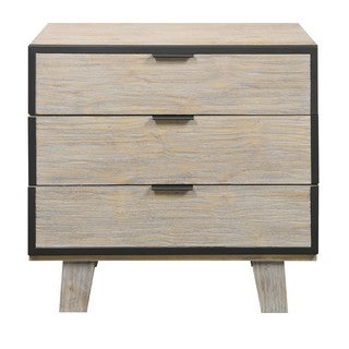Emerald Home Synchrony 3-Drawer Nightstand