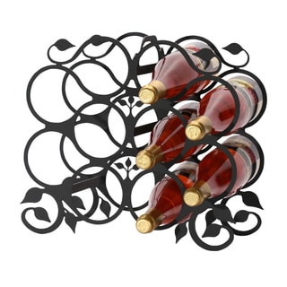 Leaf 10 Bottle Wine Rack