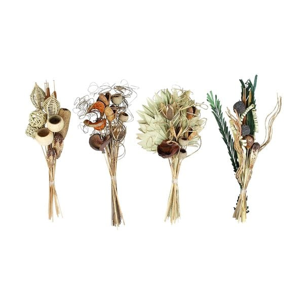 Natural Bouquet (Pack of 4)