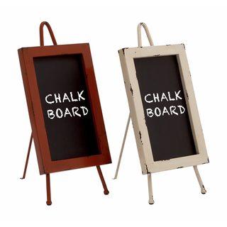 The Gray Barn Jartop Metal and Wood Chalkboard (Set of 2)