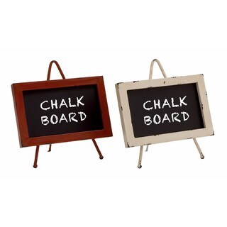 The Gray Barn Jartop Textured Metal and Wood Chalkboard (Set of 2)