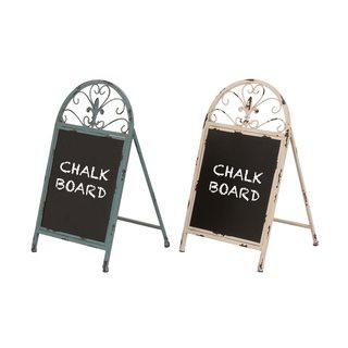 Maison Rouge Lamartine Metal Chalk Board (Set of 2)