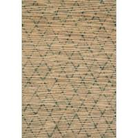 Hand-woven Ember Trellis Rug - 9'3 x 13'