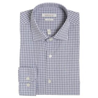 Perry Ellis Men's Slim Fit Wrinkle-free Dress Shirt